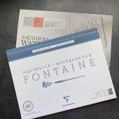 Бумага для акварели (плотность 300 gm, среднее зерно), рекомдуемые производители Canson, Fabriano, Sanders Watercolor, Clair Fontain
