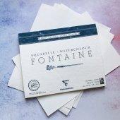 Бумага для акварели, 300гр/м2. Рекомендуемые производители:   Fabriano, Canson, Arches